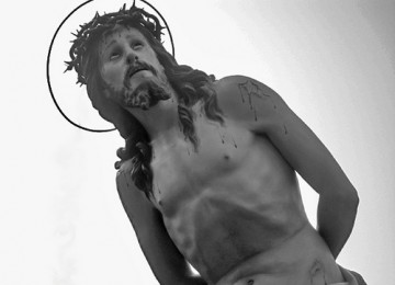 Jesus Is Here by L'assenza è un assedio. Image Source http://www.flickr.com/photos/absinthemakesyoucrazy/2325912843/